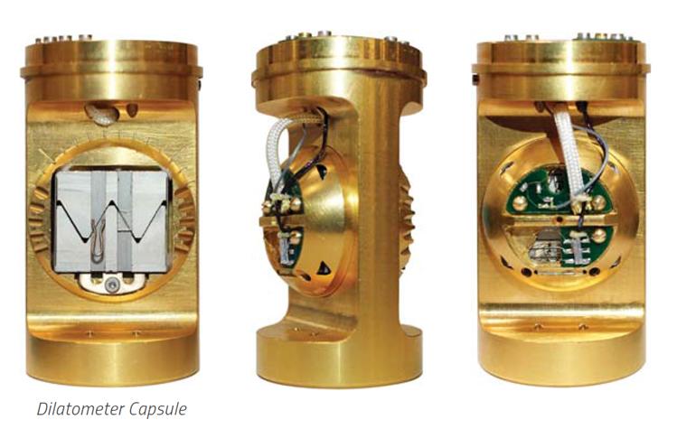 熱膨張・磁歪測定(delatometer)